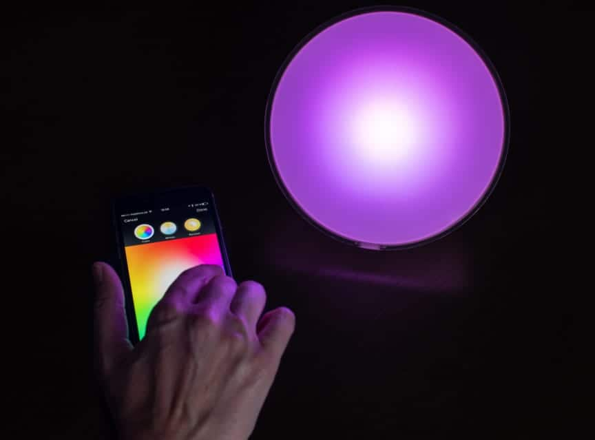 Philips hue mobile app