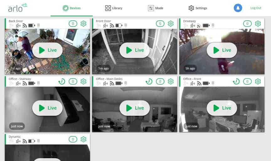 Operate and View Arlo Cameras on your PC