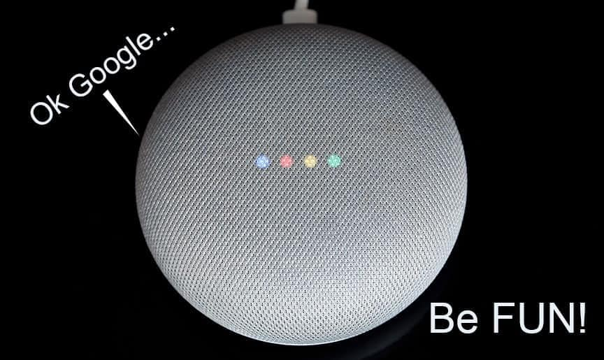 Fun Google Home Commands